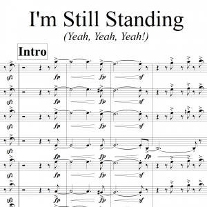 I'm Still Standing - 7pc Horns and Rhythm