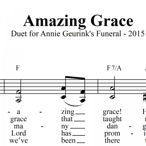 Amazing Grace - Vocal Duet & Lead Sheet - FREE DOWNLOAD