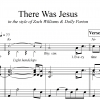 There Was Jesus - TTBB Vocals with Piano
