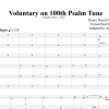Voluntary on 100th Psalm Tune - Purcell - Brass Sextet