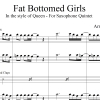 Fat Bottomed Girls - Queen - Saxophone Quintet