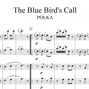 "Blue Bird's Call - for ""Hungry Five"" Polka Band"