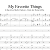 My Favorite Things - In the style of Kelly Clarkson - 3 Horns and Rhythm accmpt