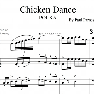 Chicken Dance Polka - Hungry Five Polka Band