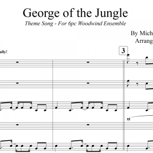 George of the Jungle Theme Song - Woodwind Ensemble