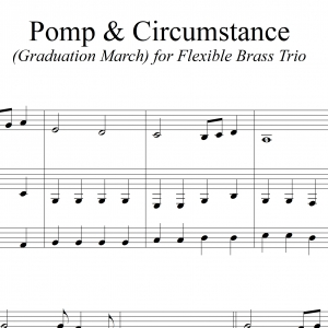 Pomp & Circumstance - for Flexible Brass Trio