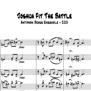 Joshua Fit The Battle - 6 Brass Sheet Music