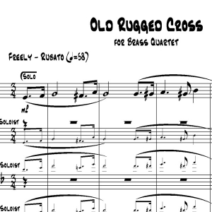 Old Rugged Cross - Brass Quartet