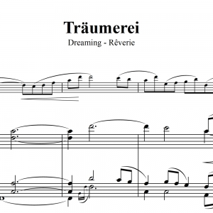 Träumerei - Robert Shumann - Solo with Piano - FREE DOWNLOAD