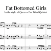 Fat Bottomed Girls - Queen - Wind Quintet
