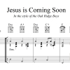 Jesus Is Coming Soon - Oak Ridge Boys - TTBB Quartet/Chorus with Piano Acc.