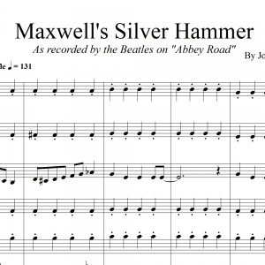 Maxwell's Silver Hammer - The Beatles - Brass Quintet