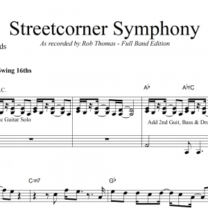 Streetcorner Symphony - Rob Thomas - Vocal with Big Band