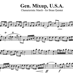 General Mixup, U.S.A. - Patriotic Medley for Brass Quintet