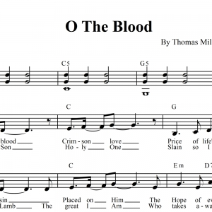 O The Blood - LEAD SHEET - Kari Jobe / Brooklyn Tabernacle Choir